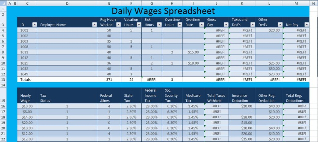Download daily wages spreadsheet template excel excel spreadsheet format for daily wages spreadsheet template excel thecheapjerseys Images