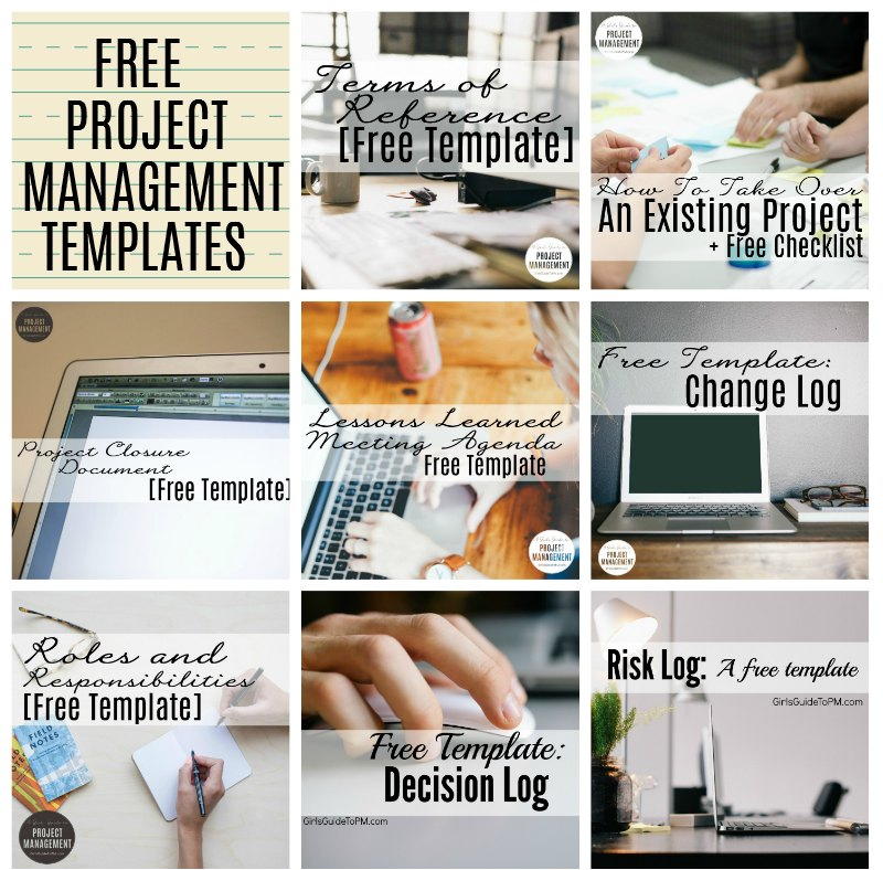 Free Project Management Templates Download